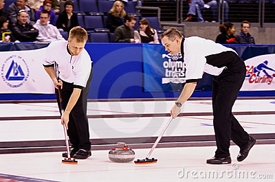 USA Men s Curling Team Editorial Stock Photo