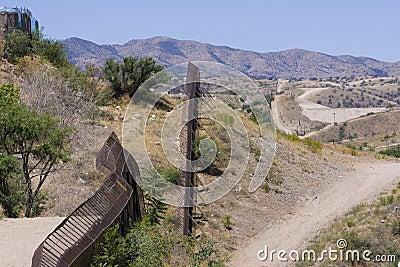 USA/Mexico International Border