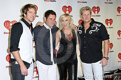 USA - Music - 2011 iHeartRadio Music Festival Editorial Stock Image