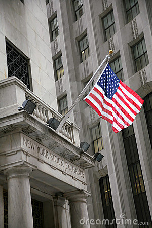 USA, New York, Wallstreet, Stock Exchange Editorial Photo