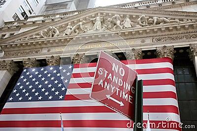 USA, New York, Wallstreet, Stock Exchange Editorial Image