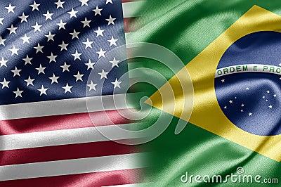 USA och Brasilien