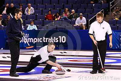USA Olympic Men s Curling Team Editorial Photo