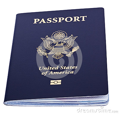 Isolated American Passport Royalty Free Stock Images ...