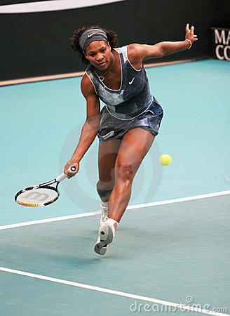 Usa  s Serena Williams at Open GDF Suez Editorial Photography