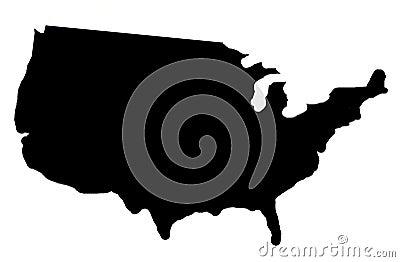 USA shadow map