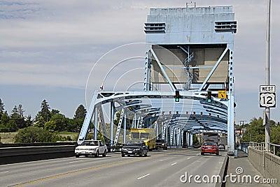 USA_SNAKE RIVER BRIDGE Editorial Photo
