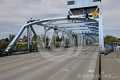 USA_SNAKE RIVER BRIDGE Editorial Stock Image