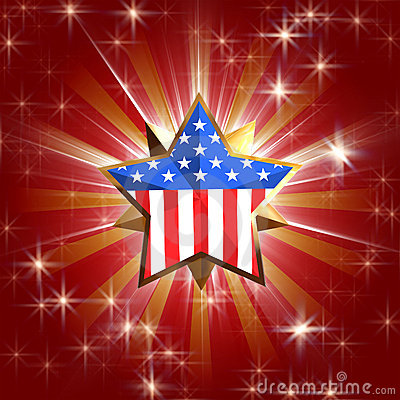Free Usa Star Stock Image - 3662241