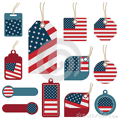 Usa Tags Royalty Free Stock Images - Image: 25504669