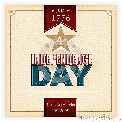 USA-Unabhängigkeitstaghintergrund