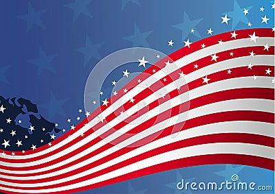 USA, US Flag Background