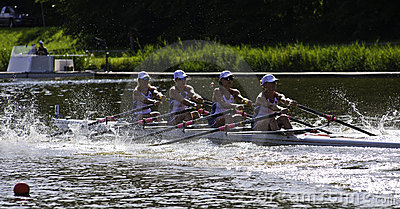 USA Woman s Quadruple Sculls Editorial Image