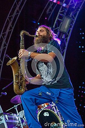 Usadba Jazz Festival Editorial Photo