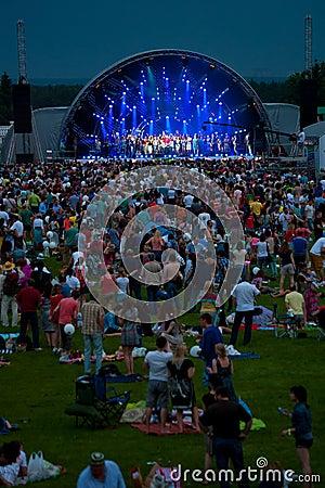 Usadba Jazz Festival Editorial Photography