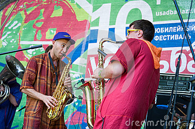 Usadba Jazz Festival Editorial Photo