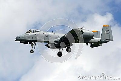 USAF A-10 Thunderbolt Editorial Image