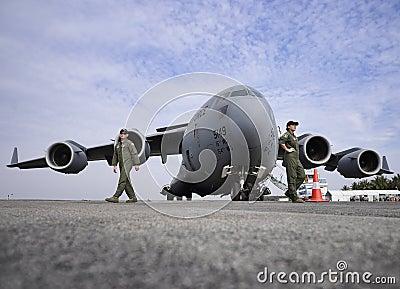 USAF C-17 Globemaster Editorial Image