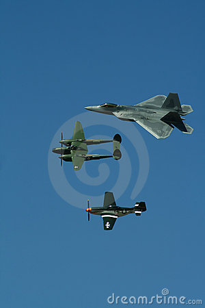 USAF Heritage Flight Editorial Photography