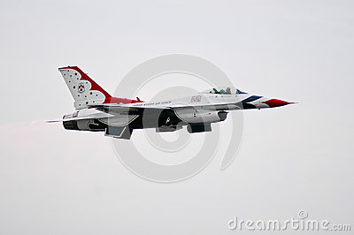 USAF Thunderbird Editorial Photo