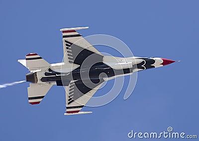 USAF Thunderbird F-16 Editorial Image