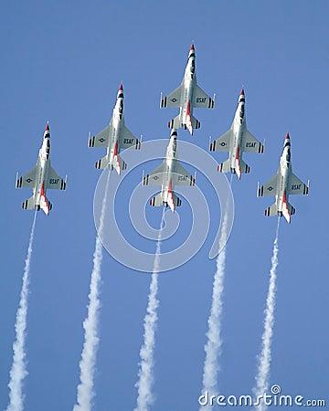 Free USAF Thunderbirds Stock Photo - 2428720
