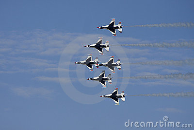 USAF Thunderbirds Airforce Show