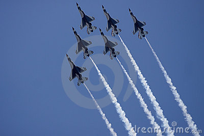 USAF Thunderbirds Airforce Show
