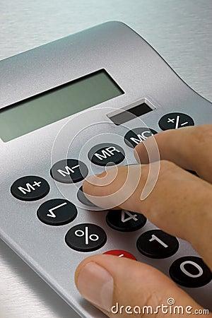 Usando la calculadora