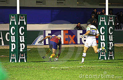 USAP vs Northampton Saints Editorial Stock Photo