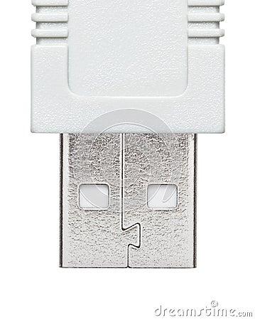 USB plug similar to the human face