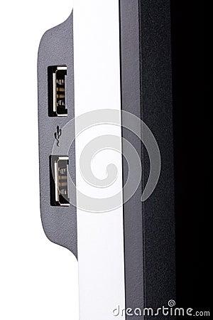 USB ports