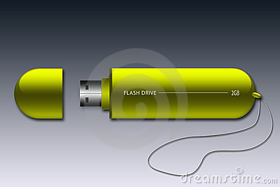 Usb Stick (Yellow)
