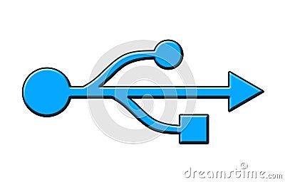 USB Symbol