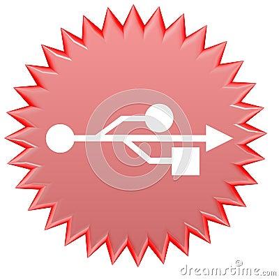 USB web button
