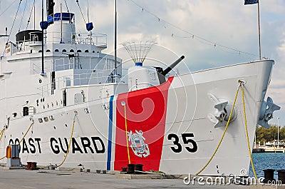 USCGC Ingrahm, Key West Editorial Stock Image