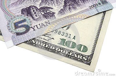 USD and Chinese Yuan