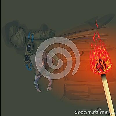 Use of fire lighting