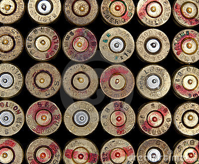 Used ammo shells