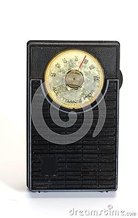 Used antique transistor radio