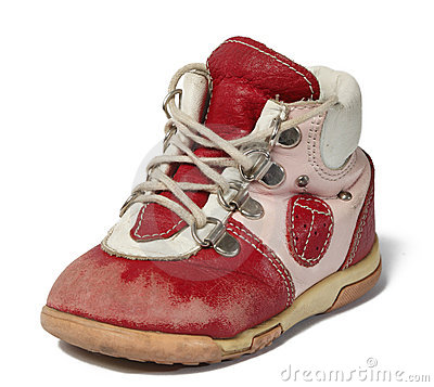 Used baby shoe