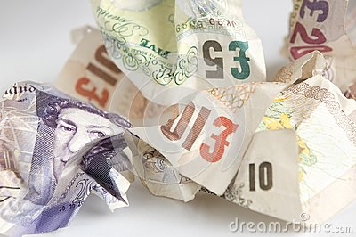 Used banknotes