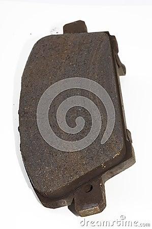 Used brake pad