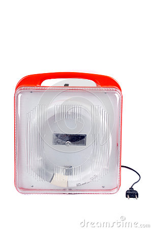 An used lED lights portable