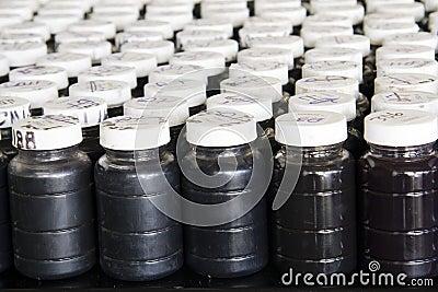 Used oil samples