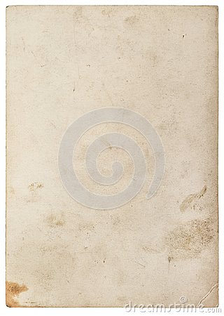 Free Used Paper Texture Worn Sheet Isolated White Background Stock Photography - 107687362