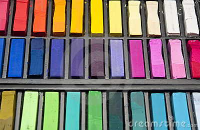 Used pastels
