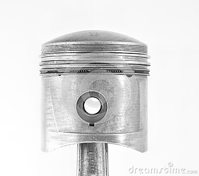 Used piston isolated