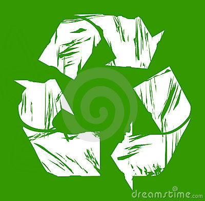 Used recycling symbol