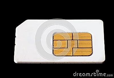 Used sim card.